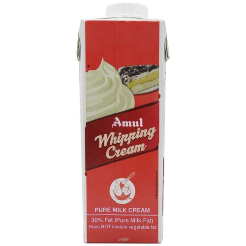 Amul Whipping Cream, 250 ml Carton
