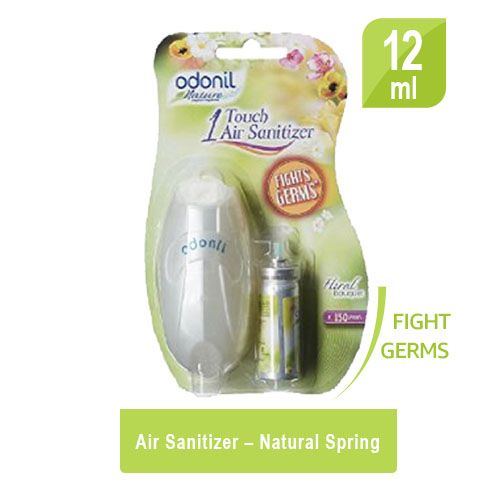 Odonil  One Touch Air Purifier Freshener - Floral Bouquet Combo, 12 ml