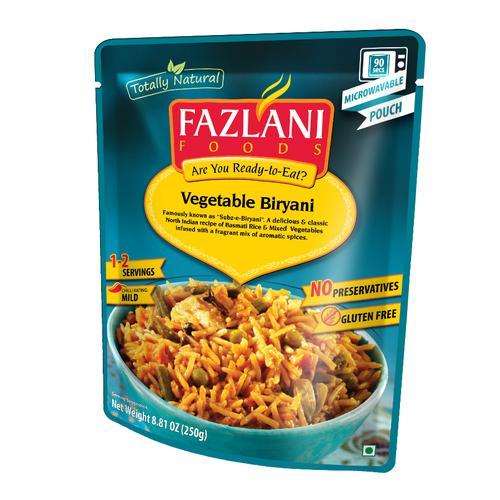 Fazlani Subz-E-Biryani, 250 g Pouch