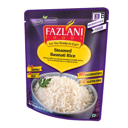 Fazlani Steamed - Basmati Rice, 250 g Pouch