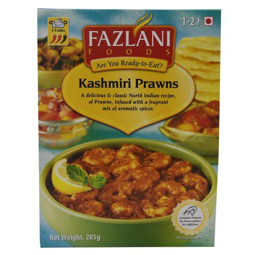Fazlani Prawns Curry - Kashmiri, 285 g Pouch