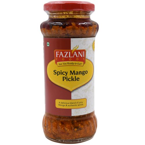 Fazlani Pickle - Spicy Mango, 300 g Bottle