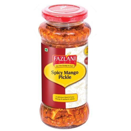 Fazlani Pickle - Spicy Mango, 300 g Bottle