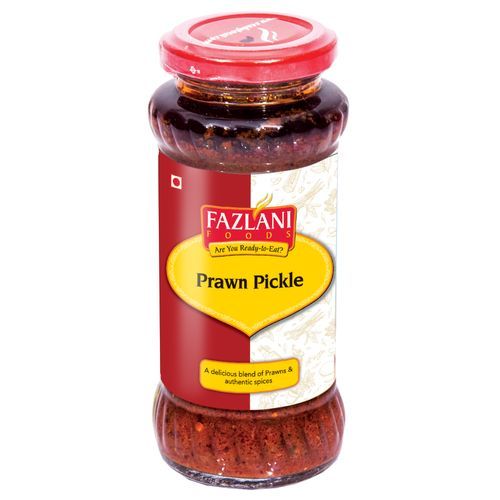 Fazlani Pickle - Prawns, 285 g Bottle