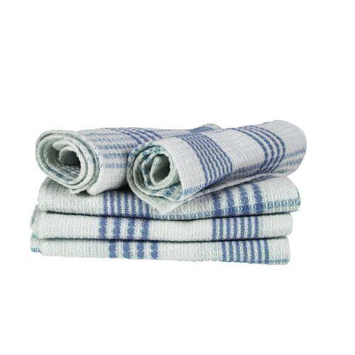 Blor Kitchen Towel - Tulips Blue, 5 pcs