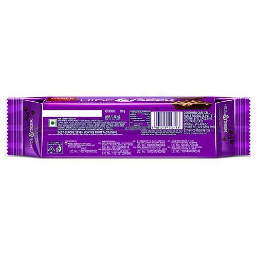 Parle Hide & Seek Chocolate, 100 g Pouch