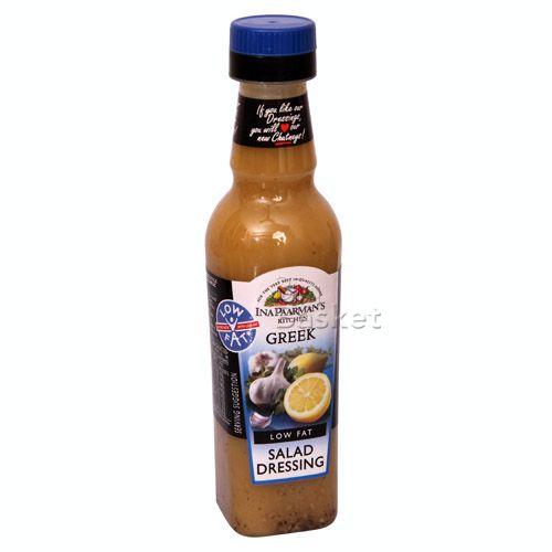 Ina Paarmans Kitchen Salad Dressing - Greek Low Fat, 300 ml Bottle