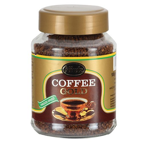 Hintz Coffee - Gold, 100 gm Jar