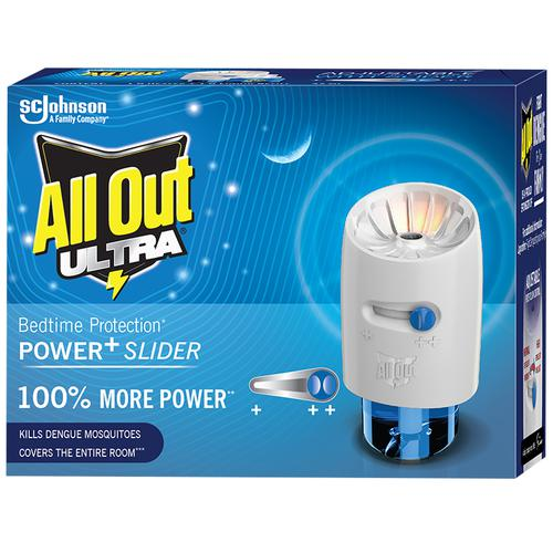 All Out Ultra Mosquito Repellant - Starter Pack, 45 ml