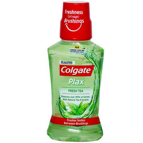 Buy Colgate Mouthwash Plax Fresh Tea Alcohol Free Imported