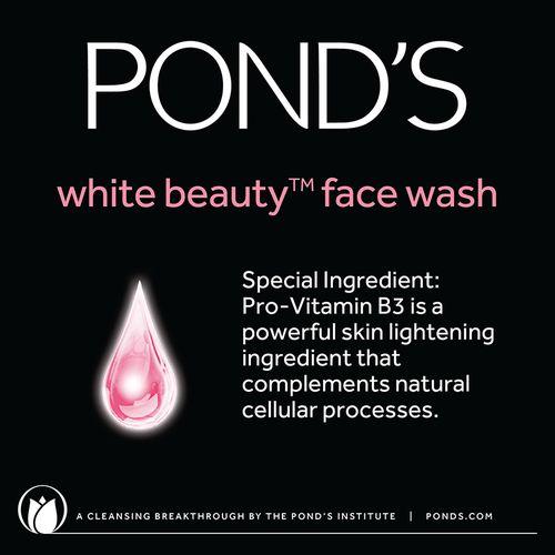 Ponds Facial Foam - White Beauty Daily Spotless Lightening, 50 g Tube