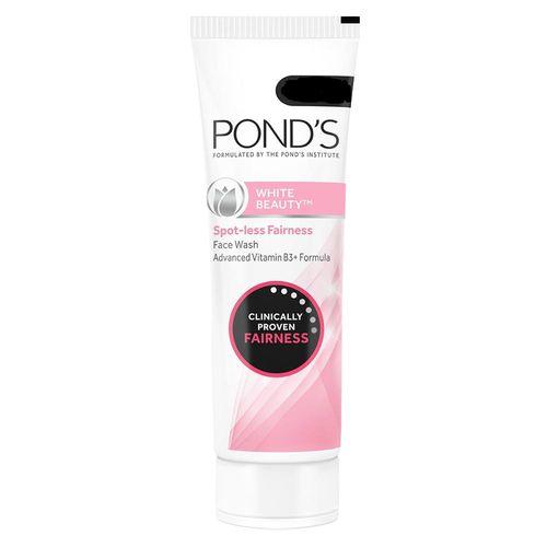 Ponds White Beauty Spotless Fairness Face Wash, 50 g Tube