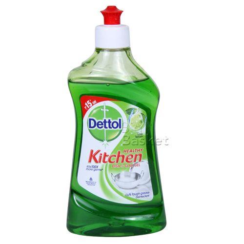 Dettol Kitchen Dish Slab Gel Lime Splash 400 Ml Buy
