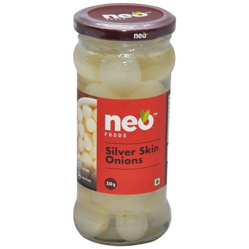 Neo Onions - Silver Skin, 350 g Jar