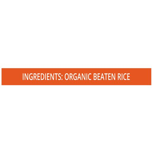 Pro Nature Organic Beaten Rice, 250 g Pouch