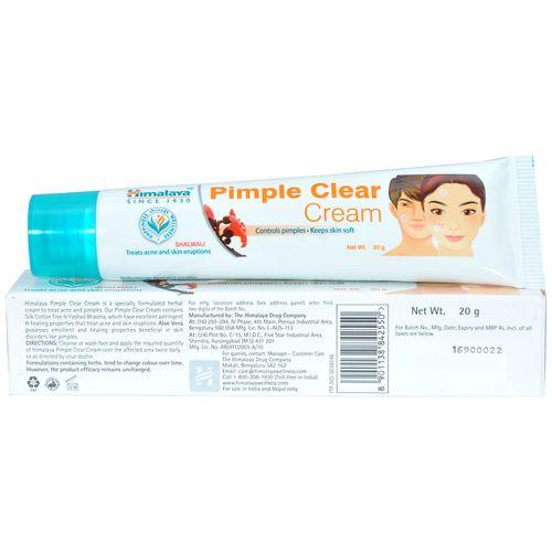 Himalaya Wellness Cream - Acne N Pimple, 20 gm
