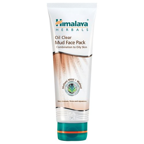 Himalaya Oil Clear Mud Face Pack, 50 g