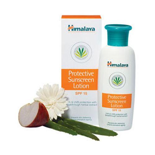 Himalaya Sunscreen Lotion - Protective, 50 ml Bottle