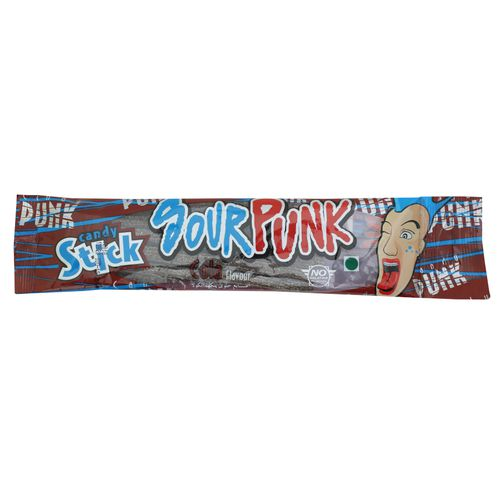 Sour Punk Candy Stick - Cola Flavour, 40 g