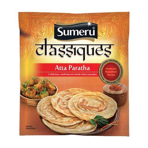 sumeru Whole Wheat Atta - Paratha, 300 gm Pouch
