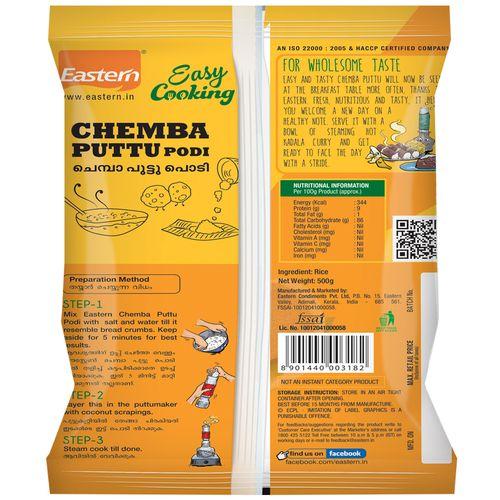 Eastern Podi - Chemba Puttu, 500 g Pouch