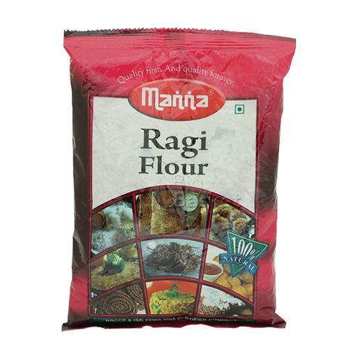 Manna  Flour - Ragi, 500 gm Pouch