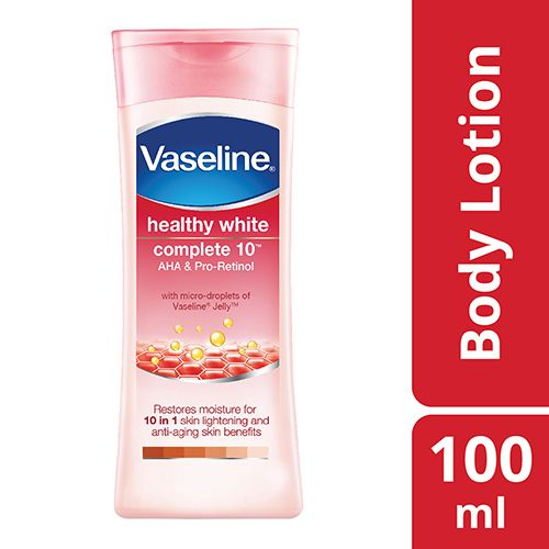 Vaseline Body Lotion - Healthy White Complete 10, 100 ml