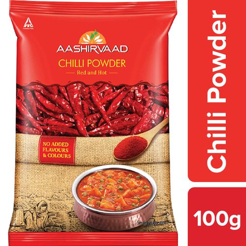 Aashirvaad Powder - Chilli, 100 g Pouch