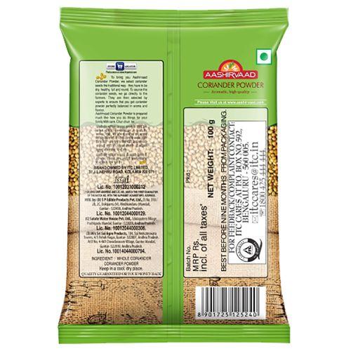 Aashirvaad Powder - Coriander, 100 g Pouch
