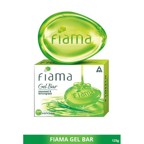 Fiama Di Wills Gel Bathing Bar - Clear Springs With Seaweed & Lemongrass, 125 gm