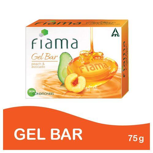 Fiama Gel Bathing Bar - Peach & Avocado, 75 g