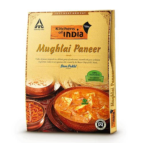 Kitchens Of India Ready To Eat - Mughlai Paneer, 285 gm