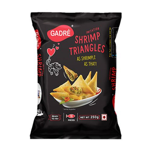 Gadre Imitation - Shrimp Triangles, 250 g Carton
