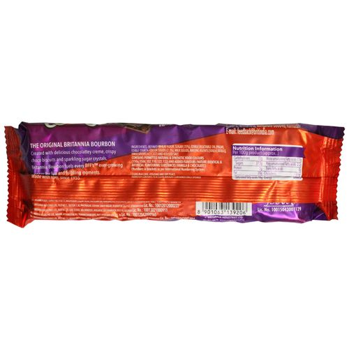 Britannia Bourbon - The Original Biscuits, 120 g Pouch