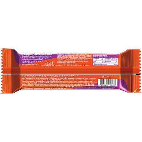 Britannia Bourbon Chocolate Cream Biscuits, 120 g