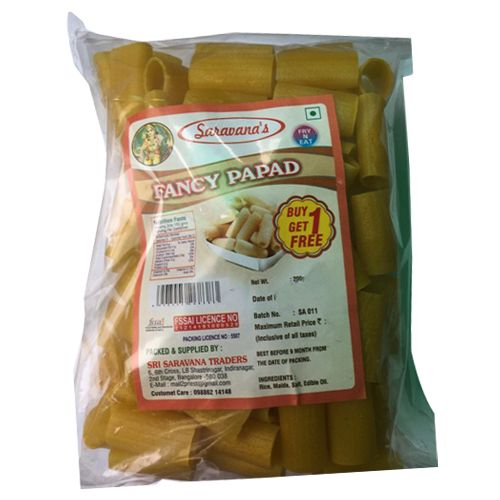 Saravanas Papad - Fancy, 200 g Pouch