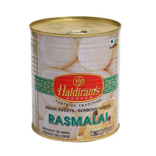 Haldirams  Rasmalai, 1 kg Tin