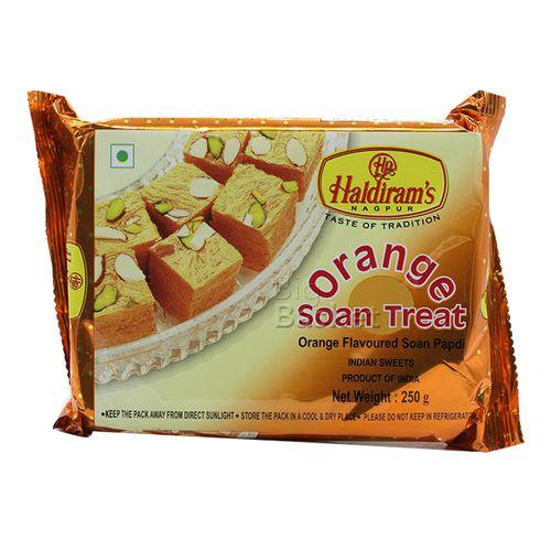 Haldirams  Soan Treat - Orange, 250 gm Pouch