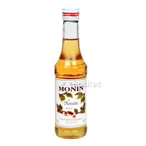 Monin Syrup - Noisette Hazelnut Flavored, 250 ml Bottle