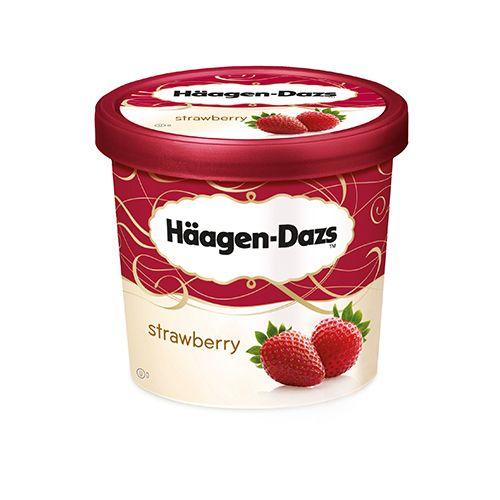 Haagen-Dazs Strawberry Ice Cream, 100 ml