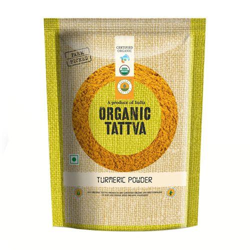 Organic Tattva Organic Powder - Turmeric, 100 g pouch