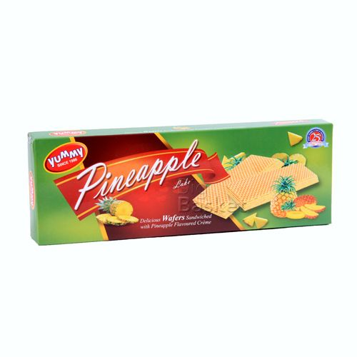 Yummy  Heaven Delicious Wafers - Sandwiched with Orange Flavored Cr me, 100 gm Carton