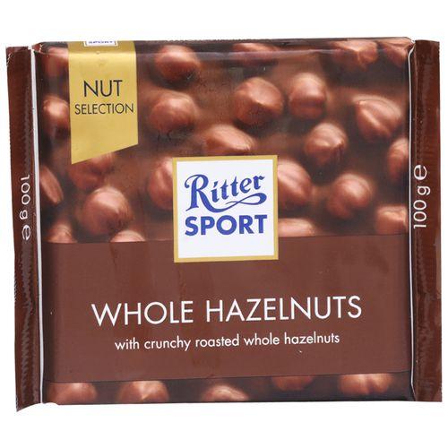 Ritter Sport Whole Hazelnuts - Crunchy Roasted, 100 gm