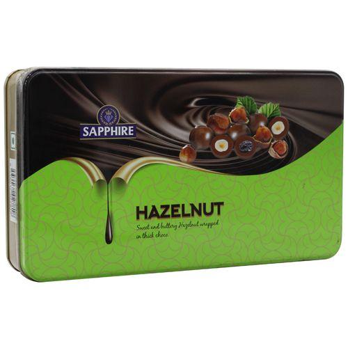 Sapphire Nuts Hazelnuts regular, 175 gm Tin