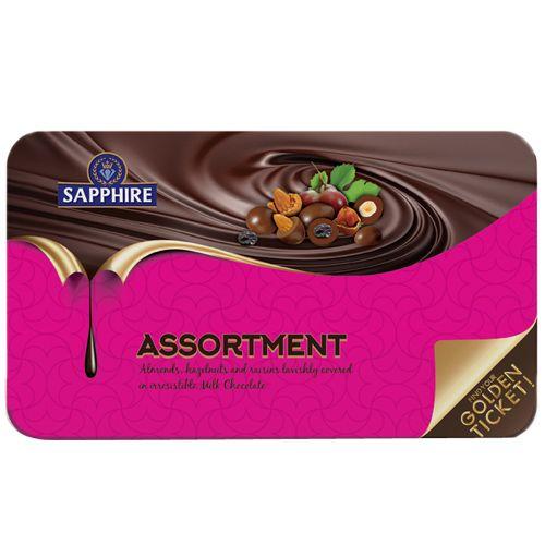 Sapphire Assortment - Nuts regular, 175 gm Tin