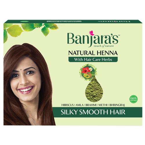 Banjara's Natural Henna Powder, 200 gm
