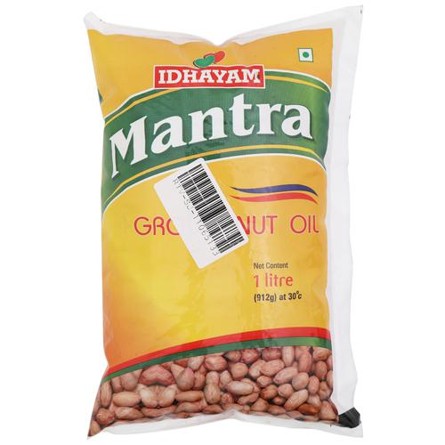 Idhayam Oil - Mantra GroundNut, 1 L Pouch
