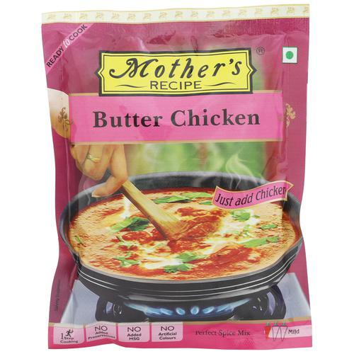 Mothers Recipe Mix - Butter Chicken, 80 gm Pouch