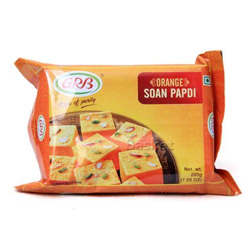 Grb Soan Papdi - Orange, 200 g Pouch