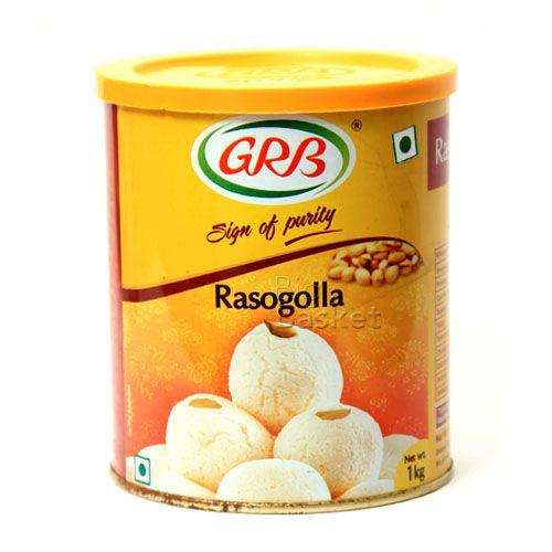 Grb Rasogolla, 1 kg Tin
